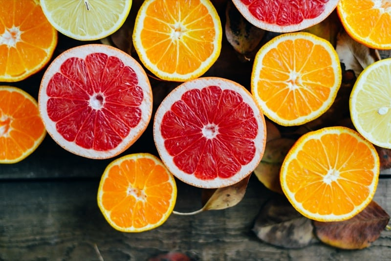 citrus fruit improves blood circulation