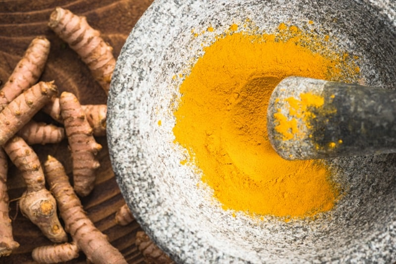 tumeric helps with blood circulation problems